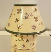 Disney Winnie the Pooh and Friends Ceramic Fall Leaves Candle Lamp