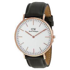 Daniel Wellington 30 m (3 ATM) Armbanduhren aus echtem Leder