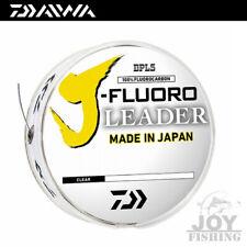 Daiwa J-Fluoro Fluorocarbon Leader Japanese Fluorocarbon Leader Material (50yds)
