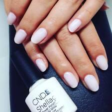 CND Shellac Studio White color coat Lack Soak Off NEU UV Gel Polish LED Nail