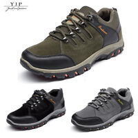 YJP Men's Safety Shoes Summer Breathable Work Boots Hiking Climbing Sneakers