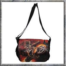 Hell Rider Stokes Scheletro Bici Anne Gotico Borsa Messenger NUOVA BORSA Nemesis Now