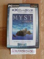 ELDORADODUJEU >>> MYST L'APOGEE Pour PC Français CD PROCHE DU NEUF