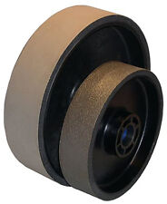 "BUTW 6"" x 1 1/2"" x 14000 grit diamond soft flex lapidary grinding wheel E"