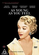 As Young As You Feel (1951) DVD MARILYN MONROE Hollywood Classic