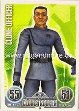 Star Wars Force Attax  Clone Officer #040