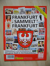 Panini: Leeralbum Frankfurt sammelt Frankfurt, toprar !!!!