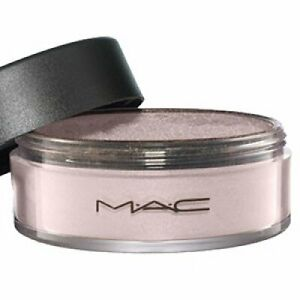 MAC Loose Iridescent Powder~SILVER DUSK~Silvery Pinky Beige Highlight WORLDWIDE