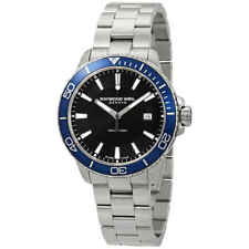 Raymond Weil Tango Black Dial Men's Watch 8260-ST3-20001
