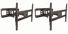 Lot2 CURVED/FLAT Screen/Panel LCD/HDTV/TV/Monitor Wall Mount/Mounting Bracket $S