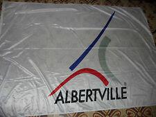 grand drapeau des jeux olympique albertville de 1992