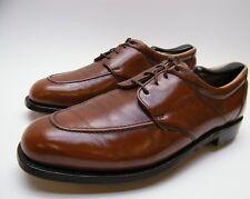 MENS VINTAGE FOOT JOY FOOTJOY BROWN LEATHER GOLF SHOES SZ 9 C 9C