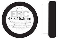Ajuste Yamaha YFM 200 DXW/DX/DXA 89 > 90 EBC Trasero Pastillas De Freno Orgánica