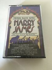 Harry James Swing Back With And Your Favorite Big Band Hits Cassette New