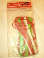 vintage NOS Hunt Wilde COMET STREAMERS multi colored MADE IN USA bike streamers