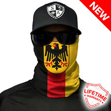 Deutschland Flagge Germany Flag Face Shield von SA Company *SOFORTVERSAND*