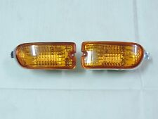 New Amber Crystal Front Bumper Flasher Light Lamp R&L ~1998 ~2001~SUBARU Impreza