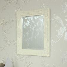 Rechteckige Deko-Spiegel im Shabby-Stil aus Holz