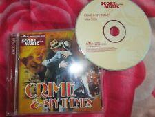 Crime & Spy Themes Various Artists CD BPM 3003 BMG score music CD Album