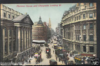 London Postcard - Mansion House and Cheapside Looking West  RS1450