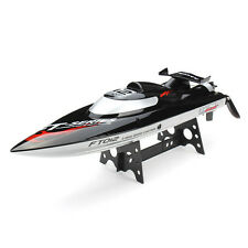FT012 2.4G Brushless RC Racing Boat RTR Speedboat Upgraded FT009 Black F15278