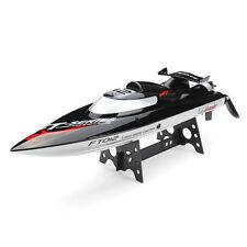 FT012 2.4G Brushless RC Racing Boat RTR Speedboat Upgraded FT009 Black F15278