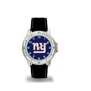 NFL OFFICIAL CLASSIC MENS SPORT WATCH Sparo w/ Leather Band You Pick JETS GIANTS