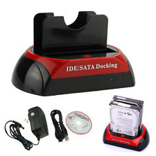 Dual 2.5/3.5 SATA HDD Hard Drive Docking Station