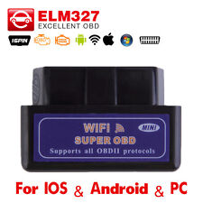 Car Diagnostic Scanner WIFI CANOBDII Tester ELM327 Fault Diagnostic Code Reader