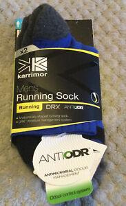 Karrimor Mens Running Socks X2 Size 7-11