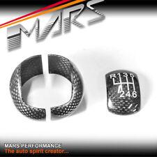 Carbon Fibre Manual Shift Knob Trim Cover for FORD Mustang FM 15-18 2.3T & GT V8