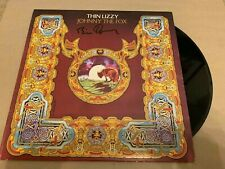 THIN LIZZY    -    JOHNNY THE FOX  -   BRIAN DOWNEY  SIGNED UK   LP   UACC
