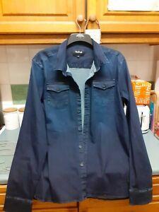 Mens Firetrap Denim Shirt Size XL (2)