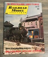 Railroad Model Craftsman Vintage Magazine June 1973 Attached Newspaper Clippings