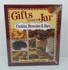 Gifts From a Jar Binder Book Cookies Brownies Bars Goodies to Mix n Bake Sealed
