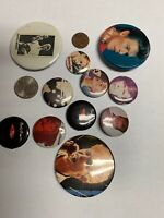 DAVID BOWIE BUTTON BADGES Lot Of 11 Vintage David Bowie Pin Badges