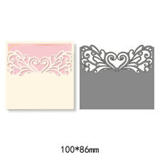 Lace Envelope Metal Cutting Dies Stencil Scrapbook Embossing Card Crafts Decor
