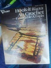 Vogart Crafts Vintage Hook It Rug Kit Latch Hook Kit Style 4318 Nos Nip