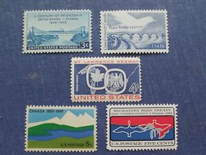 United States-Canada  Stamp Collection (5)