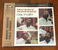 Muddy Waters Folk Singer Ultra Rare Audiophile JVC XRCD Japan Import New Sealed!