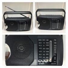 Radio AM/FM Compacta Altavoz Integrado Fácil Uso Portátil Tamaño Pocket AUX