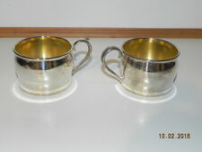 2 In box: Oneidia silversmith cups. They do have some tarnishing.