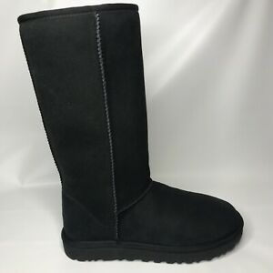 W UGG CLASSIC TALL II BLACK 1016224 ORIGINAL 2.0 Water Resistant Size 8