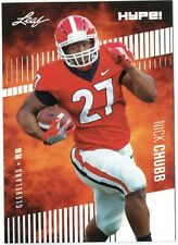 Nick Chubb 2018 Score Football #365 Rookie Card PGI 10