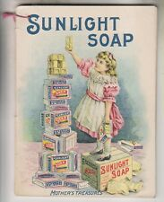 VINTAGE AD BOOKLET - LEVER BROTHERS - SUNLIGHT SOAP - LIFEBUOY SOAP