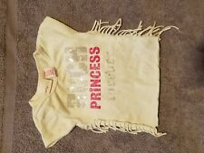 A girls shirt  that says rock princess forever size 6_9 months