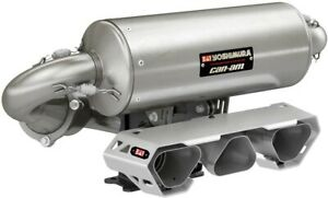 Can-Am In-Line Triple Yoshimura Slip-On Exhaust for Maverick X3,X3 MAX 715005183