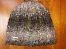 3f63a9bc588 Billabong Youth Girl Kid Junior Wome XS Pink Purple Brown Knit Beanie  Winter Hat