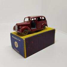 42 Matchbox Moko Lesney No. 17 Austin Metropolitan Taxi Maroon in Original Box