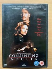 Consenting Adults 1992 Neighbours from Hell Crime Thriller UK DVD